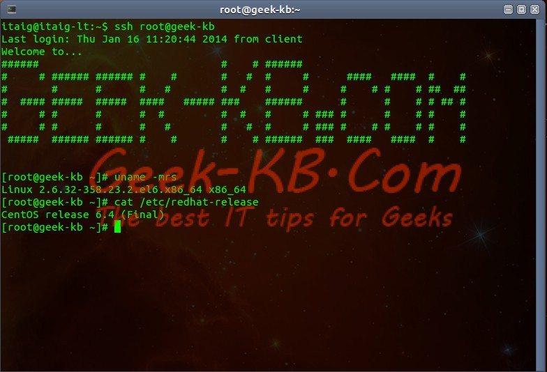 How To: Upgrade CentOS Linux v6.x to v6.5 - Geek-KB.com
